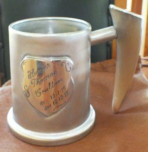 Pewter Christening Mug (200ml) Image