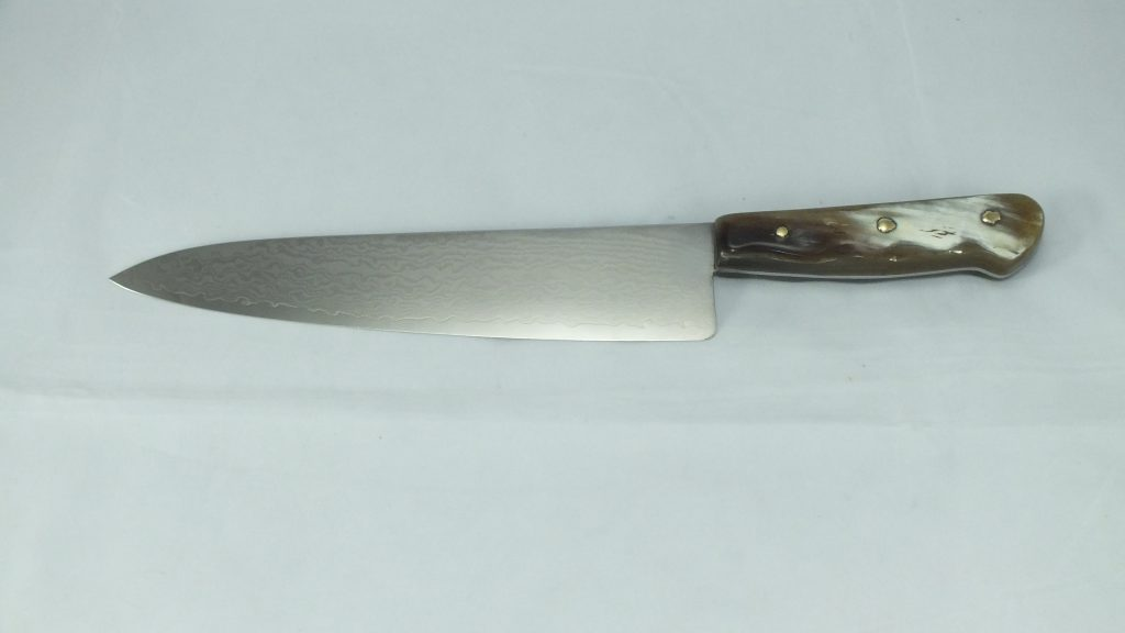 Chefs Knife (VG2 stainless Damascus steel) Image